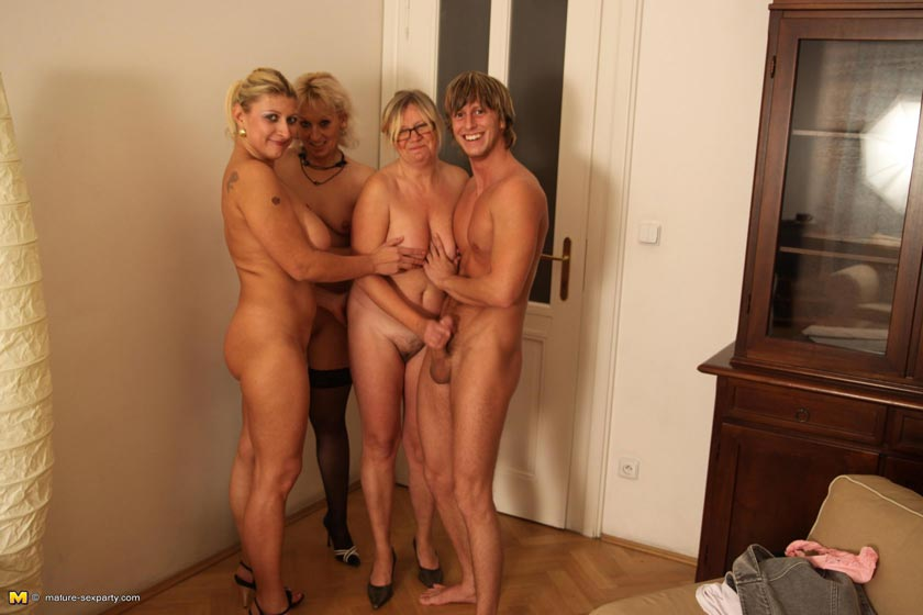 You Horny mature women party